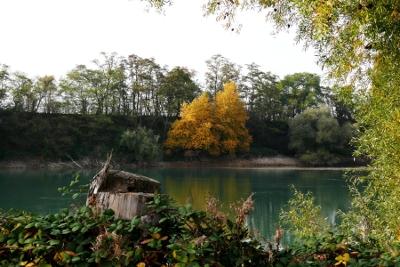 Kies und Sand umweltschonend Kiesgrube Baggersee Leimig Rheinland Koblenz St Sebastian